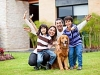 happy family after dog training